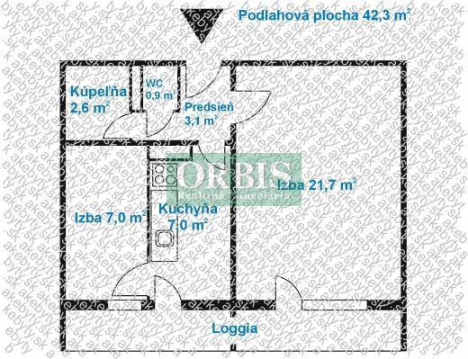 Reality 1,5 izb. byt - Martinčekova ulica, Ružinov