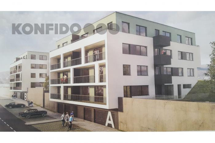 Reality Novostavba, 2-izbové byty, o výmere 57,95m2 - 60,26m2 s loggiou, terasou alebo predzáhradkou