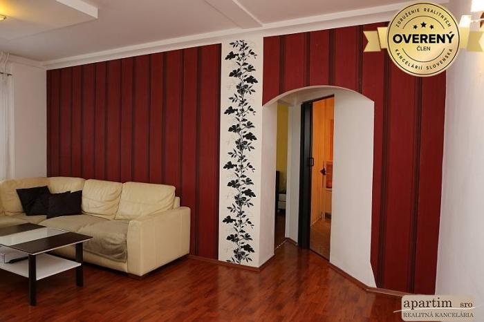 Reality Apartim s.r.o prenajme pekný 2 izb. byt na Sputnikovej ul v Ružinove