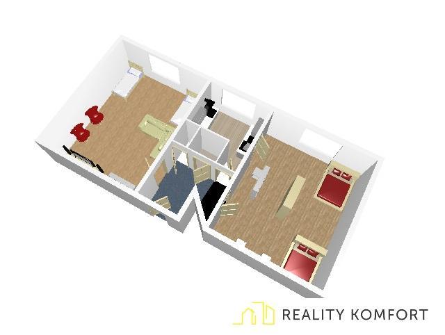 Reality Dvojizbový byt v Ružomberku