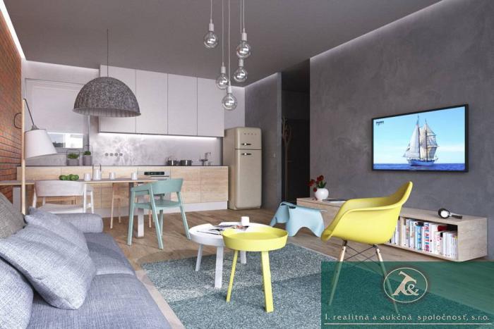 Reality Aukcia - trojizbový podkrovný byt, výmera 79m², Trnávka