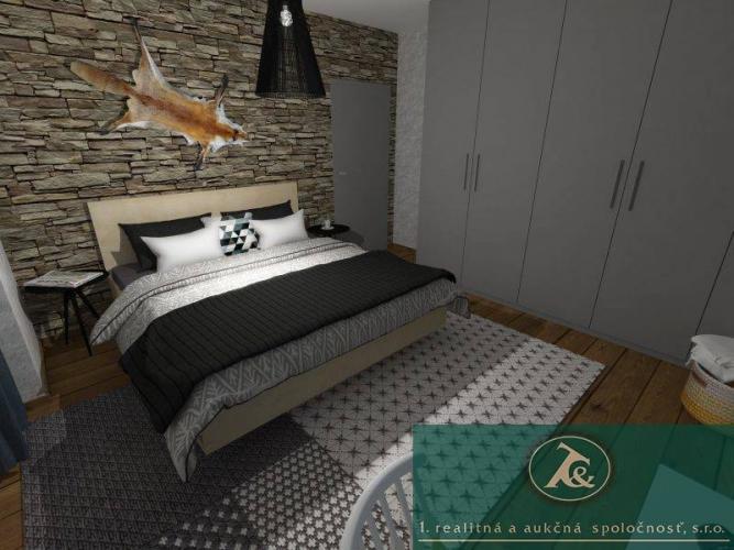 Reality Aukcia - trojizbový apartmán, výmera 62 m², Mýto pod Ďumbierom
