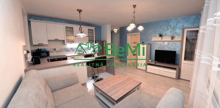 Reality Nitra Čermáň- Predaj 2 izbového vkusne zariadeného bytu v novostavbe