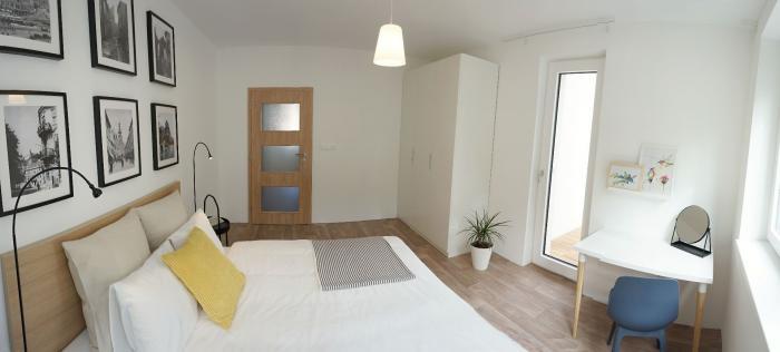 Reality COLLDEEDs rental – prenájom krásneho dizajnovo zar. 3 izb. bytu pod Slavínom v novostavbe, Šul