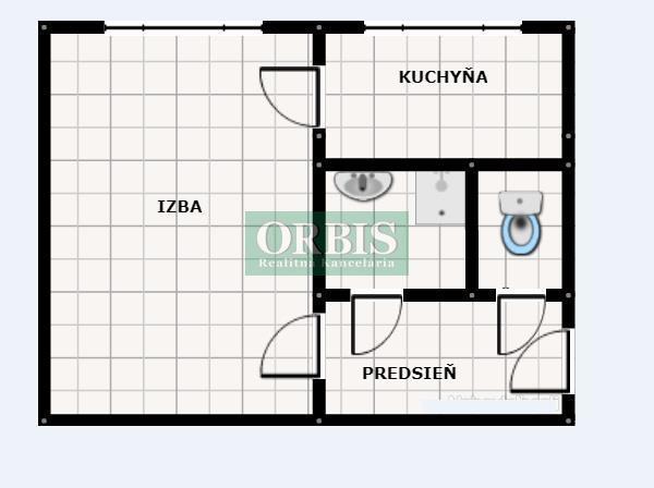 Reality 1 izb. byt - Banšelova ulica, Trnávka