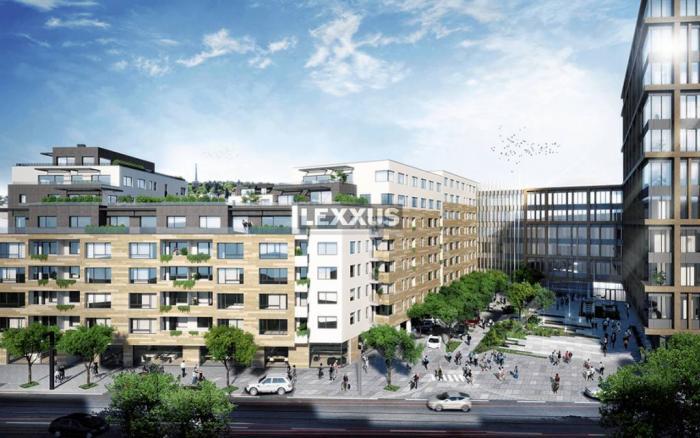 Reality LEXXUS-PREDAJ, 4i apartmánový byt s terasou v projekte Blumental, BA I