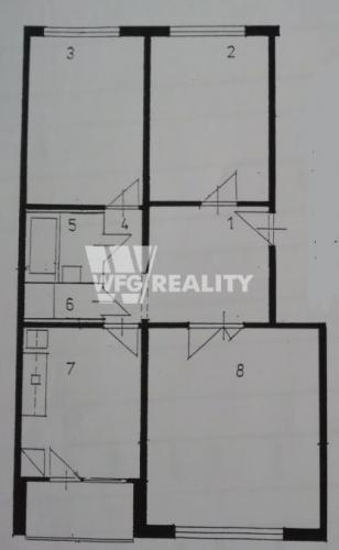 Reality čoskoro v ponuke 3 izbový novo zrekonštruovaný byt /70m2/Žilina-Solinky