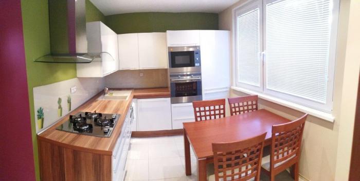 Reality BONIT REAL – Na prenájom slnečný, zariadený 3-izbový byt v tichom prostredí, Rača - centrum