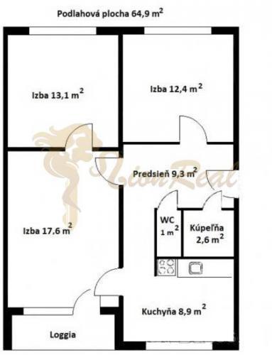 Reality 3-izb., Bilíkova, Dúbravka, 7 p/8, lodžia