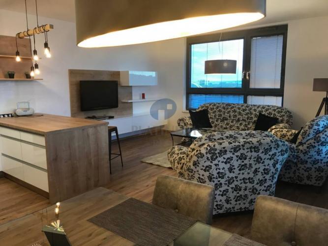 Reality Úplne nový, zariadený 2 izbový byt s loggiou a parkovaním