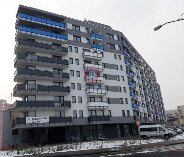 Reality Prenájom 1 izbového bytu v NOVOSTAVBE s loggiou orientovaného do medzi-bloku - Uzbecká ulica - P
