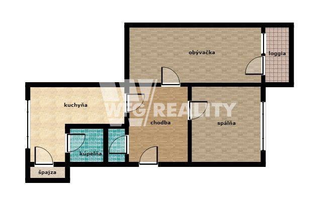 Reality 2izb byt na rekonštrukciu, Hliny 8 - Žilina