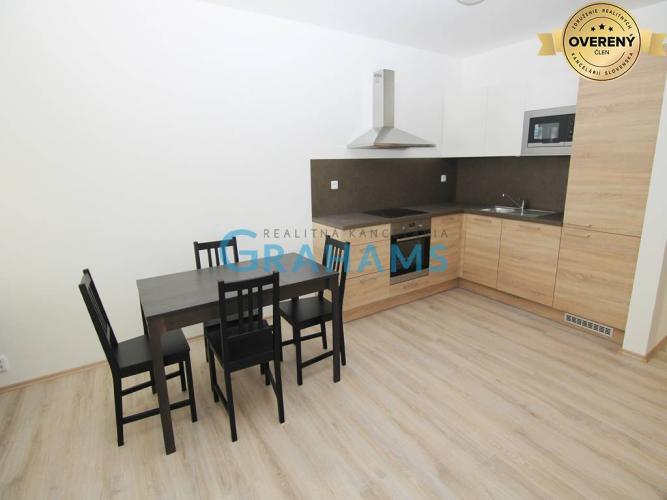 Reality GRAHAMS - PRENÁJOM, 3 izbový byt, Rustaveliho ulica, Rača