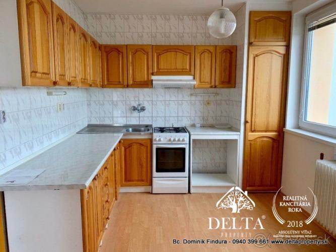 Reality DELTA - Slnečný 4-izbový byt s balkónom na predaj Poprad - širšie centrum