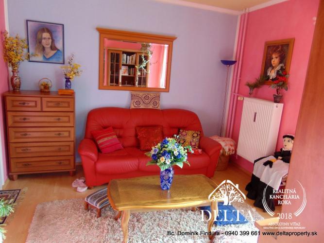 Reality DELTA - Slnečný 3-izbový byt s balkónom na predaj Svit - TOP CENA!!!