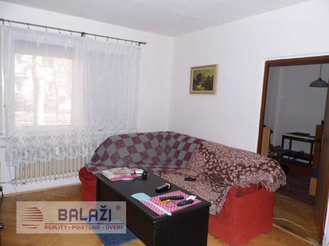 Reality Martin SEVER NÁJOM čiastočne zariadený 3 izbový byt 60m2