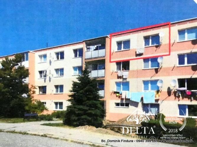 Reality DELTA - 3-izbový byt vhodný na rekonštrukciu na predaj Poprad - Matejovce