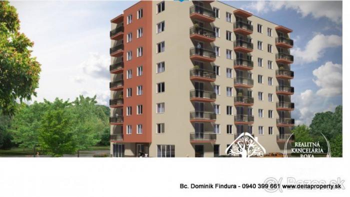 Reality DELTA - 4-izbové byty s balkónom v novostavbe na predaj Sp. Nová Ves - širšie centrum