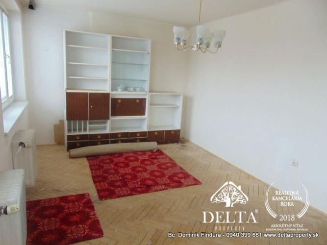 Reality DELTA - Slnečný 3-izbový byt s balkónom na predaj Spišký Štvrtok