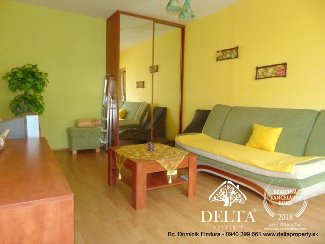 Reality EXKLUZÍVNE - Príjemný, slnečný 1-izbový byt na predaj Nová Lesná