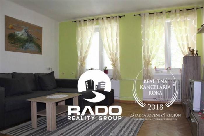 Reality Predaj 2-izb. bytu 54 m2, Trenčín - 28.októbra