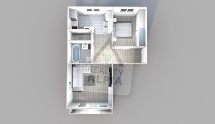 Reality 2-izbový byt byt, Poprad, Sídlisko Juh III
