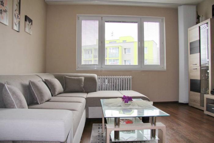 Reality 3 izbový družstevný byt s loggiou, 64 m2, Bukureštská, Ťahanovce