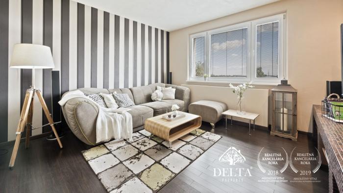 Reality DELTA | Zrekonštruovaný 3 izb.byt s parkovaním, Žitná ulica, 69 m2