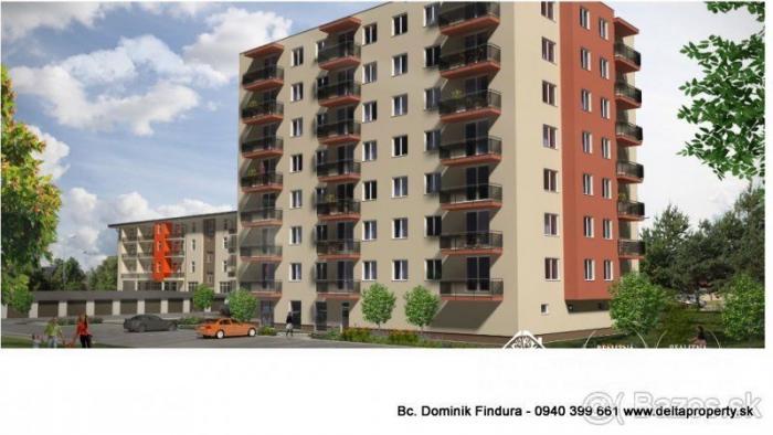Reality DELTA - POSLEDNÉ dva 3-izbové byty s balkónom v novostavbe na predaj Sp. Nová Ves - širšie cen