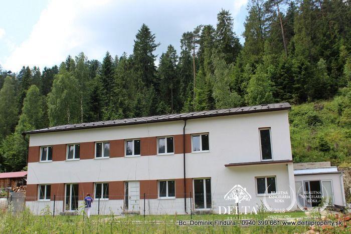 Reality DELTA - Priestranný 3-izbový byt s terasou v blízkosti lesa na predaj Novoveská Huta