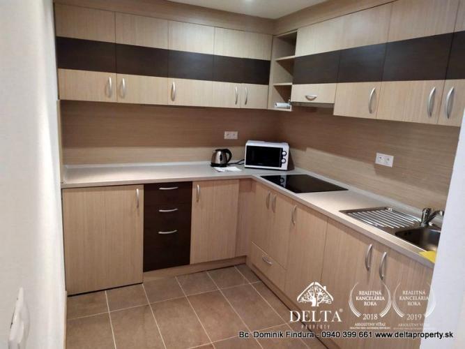 Reality ZNÍŽENÁ CENA - Pekný, zariadený 2-izbový byt s loggiou na predaj Stará Lesná
