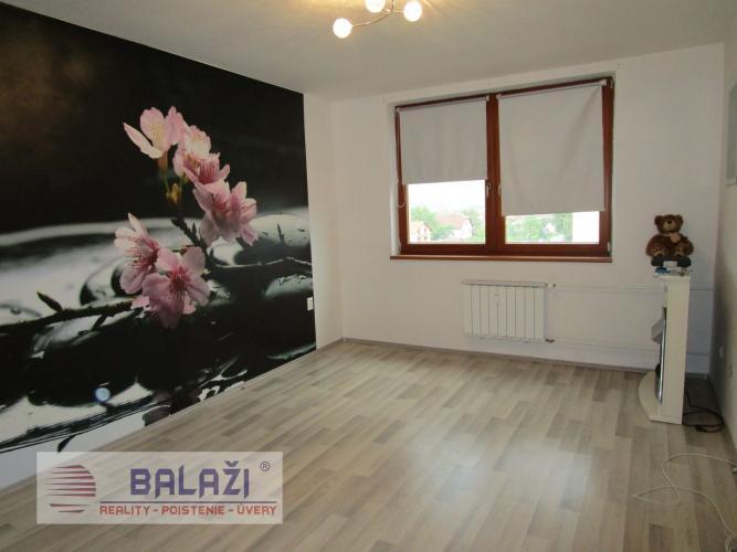 Reality TURANY 1 izbový byt 38,50m2, Drevina