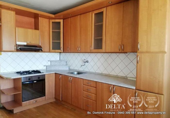 Reality DELTA - Slnečný 3-izbový byt s loggiou na predaj Levoča - Západ