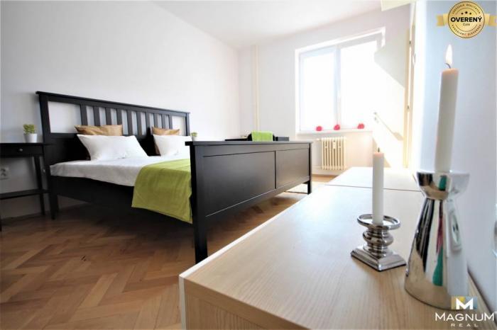 Reality Útulný 2 izbový byt v tichej lokalite, Kapušianska ul., Ružinov, TEHLA