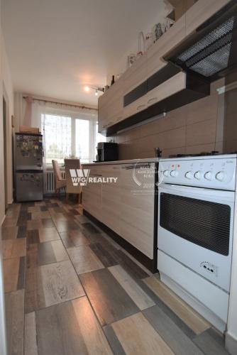 Reality 2 izbovy kompletne zrekonštruovaný byt Vlčince/66m2/