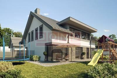 Reality 5 izbové rodinné domy, BRATISLAVA - Vrakuňa
