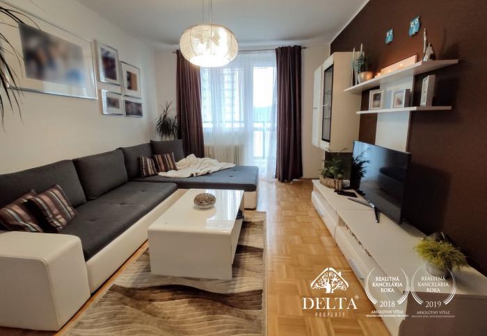 Reality !!! REZERVOVANÝ !!! Na predaj slnečný 3-izbový byt v Poprade - sídlisko Juh3