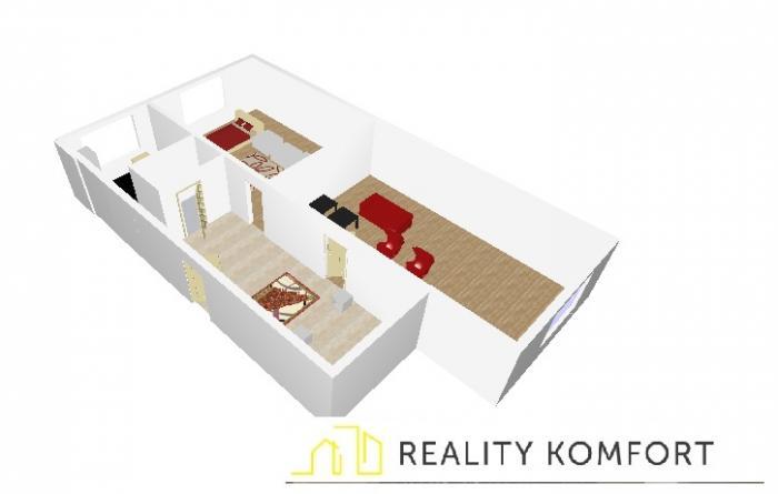 Reality DVojizbový byt s balkónom v Ružomberku