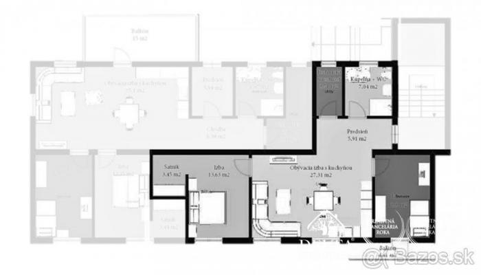 Reality DELTA - 3-izbový byt s balkónom na predaj v novostavbe Novoveská Huta