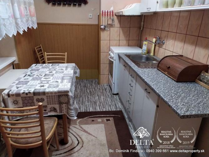 Reality DELTA - 4-izbový tehlový byt na predaj Kežmarok