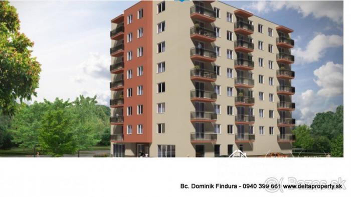 Reality POSLEDNÉ 4-izbové byty s balkónom v novostavbe na predaj Sp. Nová Ves - širšie centrum