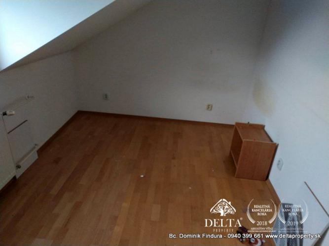 Reality DELTA - 5-izbový mezonet s balkónom na predaj Poprad - širšie centrum