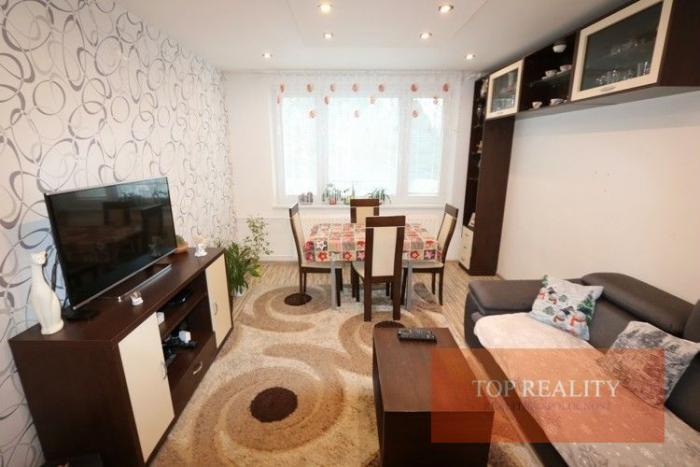Reality NOVINKA! Zrekonštruovaný zariadený 3 izbový byt 67 m2 s loggiou, 2/8. Trnava, Nerudova 120.000