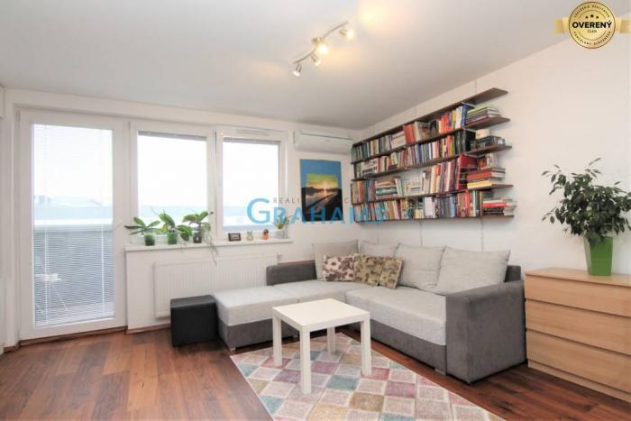 Reality GRAHAMS - PREDAJ, 1-izbový byt, novostavba, Rustaveliho,  Rača