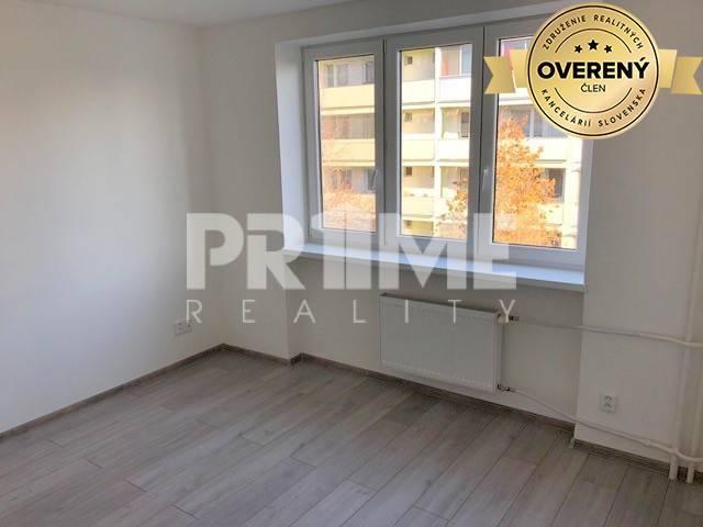 Reality Zrekonštruovaný 1i byt, zariadený, Kašmírska ul., Ružinov