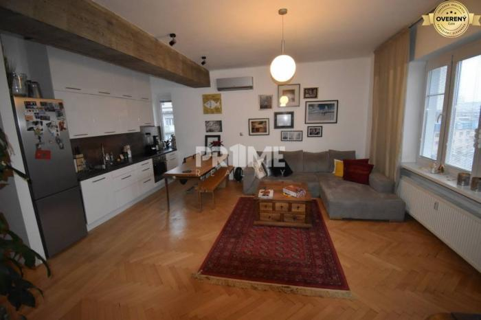 Reality Pekný 2i byt, rekonštrukcia, klíma, parking, Záhradnícka, Staré Mesto