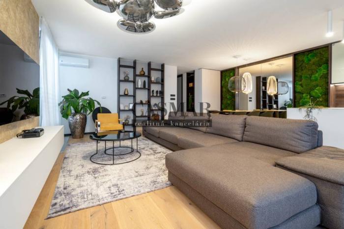 Reality Na predaj nadštandardný,výnimocný 4 izbový byt v ARBORIA PARK ZELENÁ