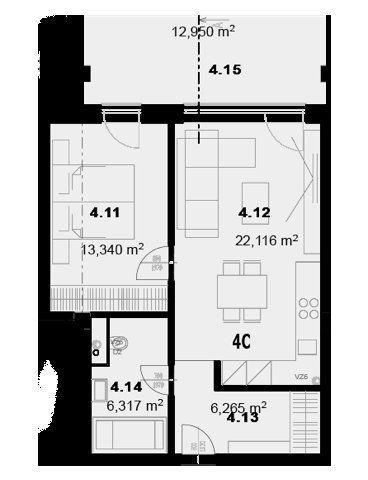 Reality Na predaj 2 izbový byt v centre mesta Prešov - NOVOSTAVBA.