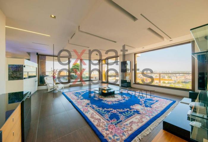 Reality 4-izb penthouse Koliba,172 m2, terasa 133m2, záhrada s bazénom, 4garáž