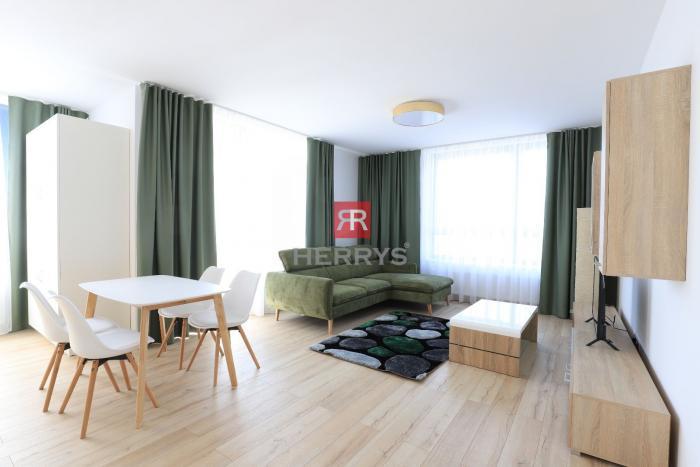 Reality HERRYS - Na prenájom úplne nový 2izbový byt s garážovým statím v City Parku
